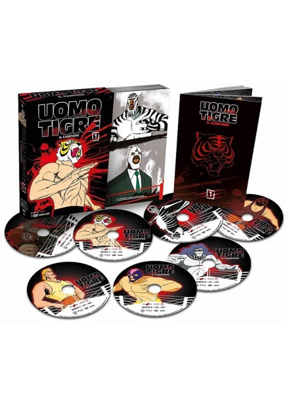 UOMO TIGRE - IL CAMPIONE BOX 1 (7 Dvd)
