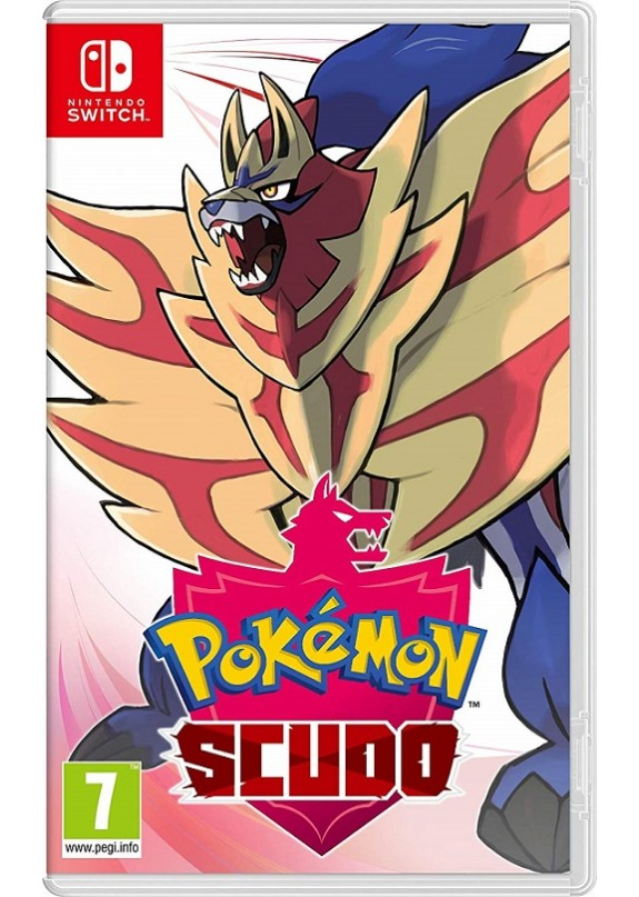 POKEMON SCUDO  NINTENDO SWITCH (versione UK multilingua italiano)