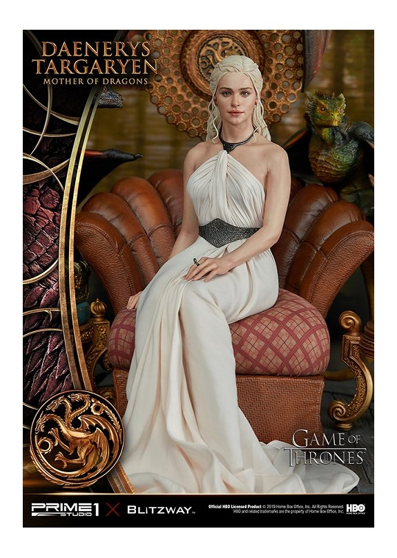 GAME OF THRONES DAENERYS TARGARYEN MOTHER DRAGON STATUE
