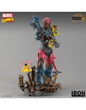 X-MEN VS SENTINEL ART 1/10 DIORAMA DLX
