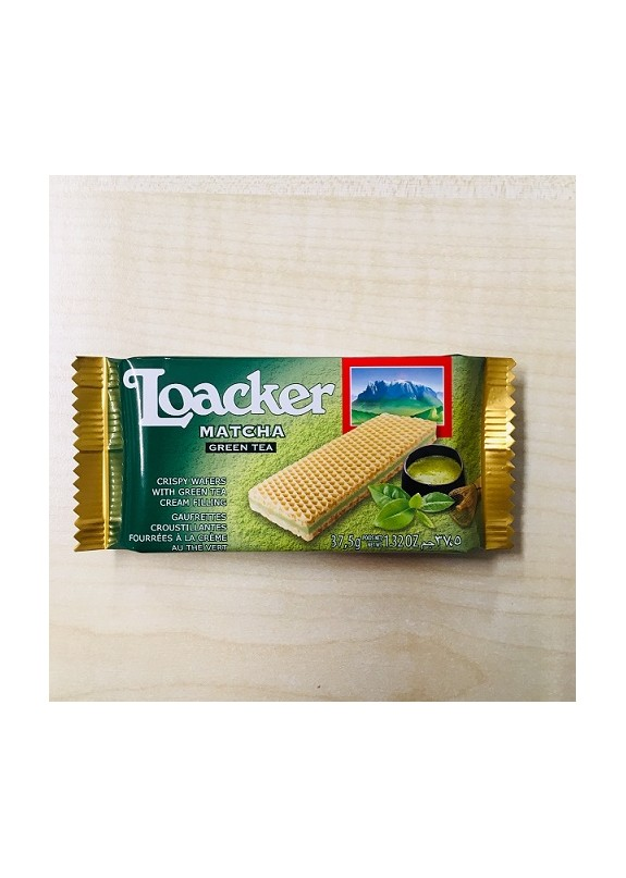 LOACKER GUSTO MATCHA GREEN TEA 37,5g