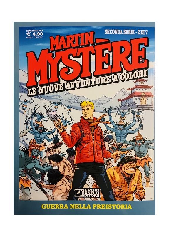 MARTIN MYSTERE LE NUOVE AVVENTURE A COLORI - SECONDA SERIE  N.2 (DI 7)