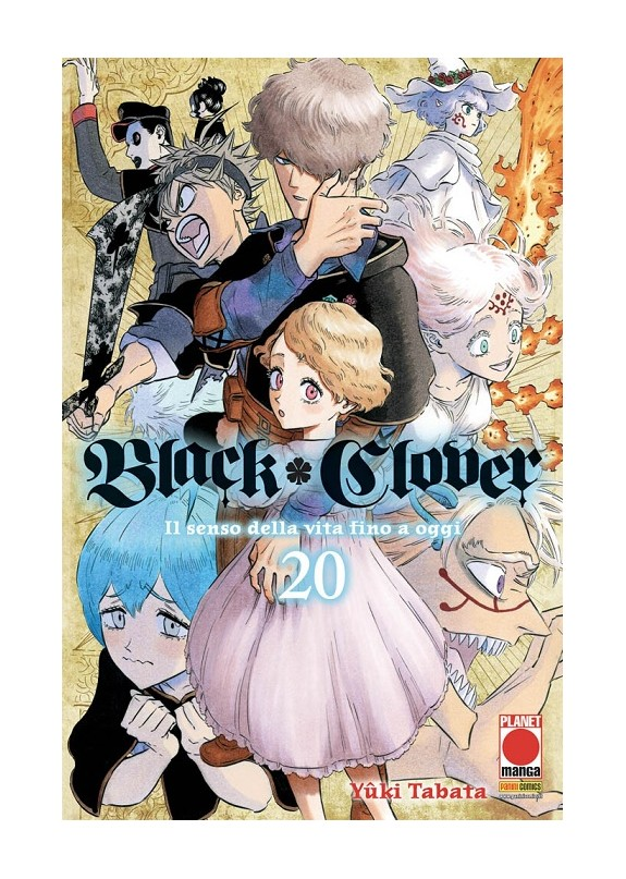 BLACK CLOVER N.20