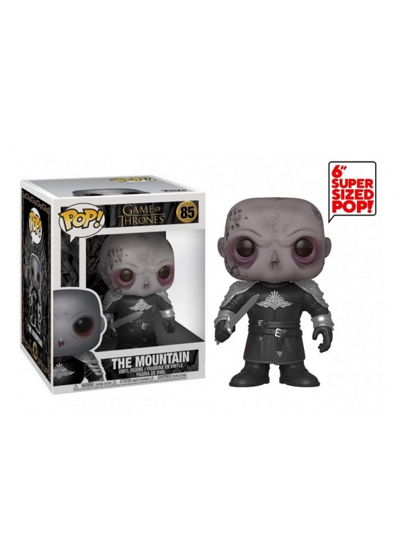 GAME OF THRONES THE MOUNTAIN FUNKO POP #85 super sized 16cm