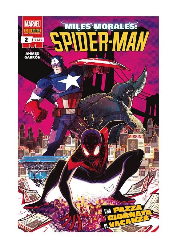 MILES MORALES SPIDER-MAN N.2