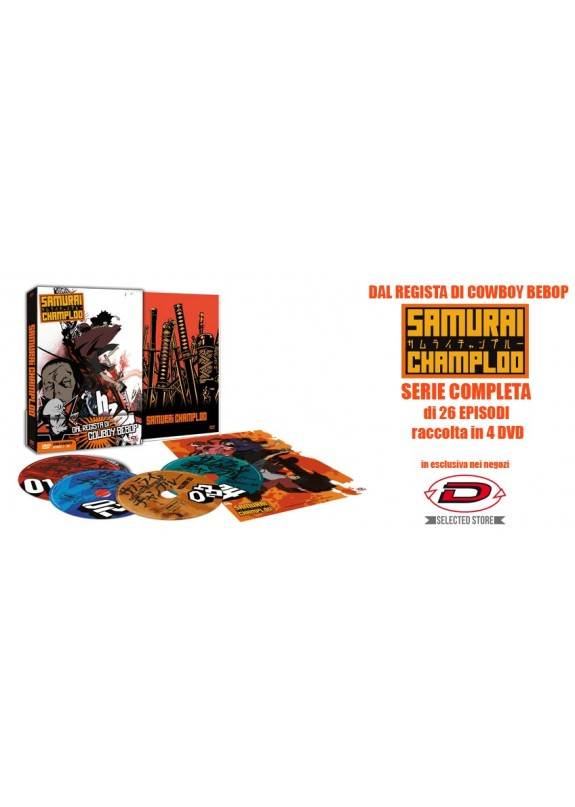 SAMURAI CHAMPLOO SERIE COMPLETA (ESCLUSIVA DYNIT SELECTED POINT)  DVD