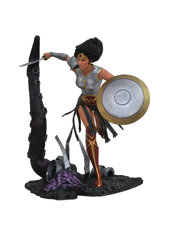 DC GALLERY WONDER WOMAN DARK MULTIVERSE FIGURE