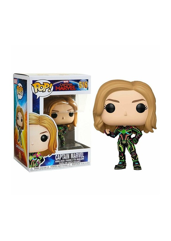 MARVEL CAPTAIN MARVEL FUNKO POP #516