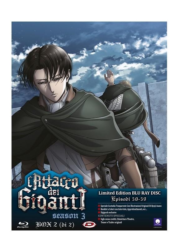 Attacco Dei Giganti (L') - Stagione 03 Box 02 (Eps 13-22) (2 Blu-Ray) (Ltd Edition)