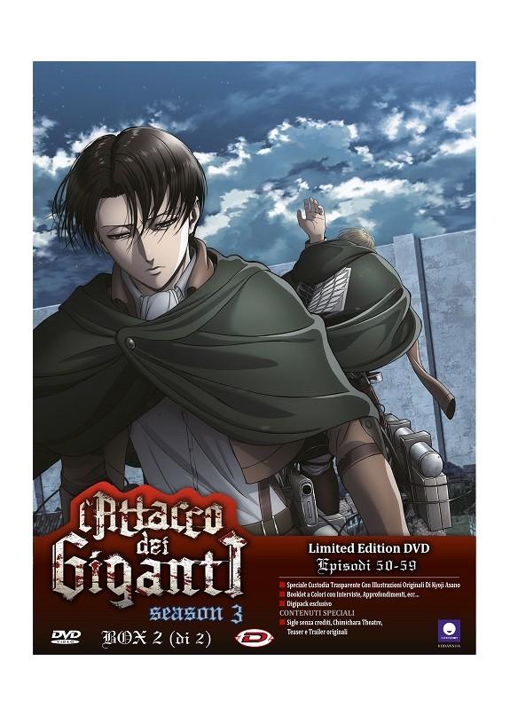 Attacco Dei Giganti (L') - Stagione 03 Box 02 (Eps 13-22) (2 Dvd) (Ltd Edition)