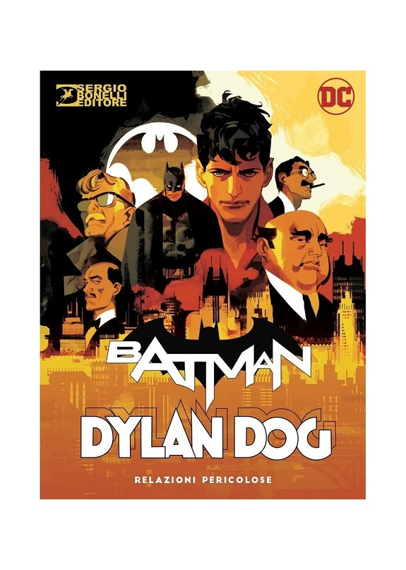 Batman Dylan Dog n.0 - Heroes Cover