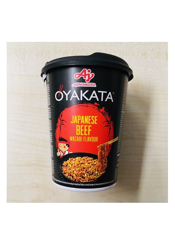 OYAKATA NOODLE JAPANESE BEEF WASABI FLAVOUR  93g