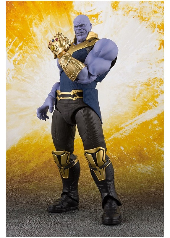 AVENGERS INFINITY WAR THANOS S.H. FIGUARTS
