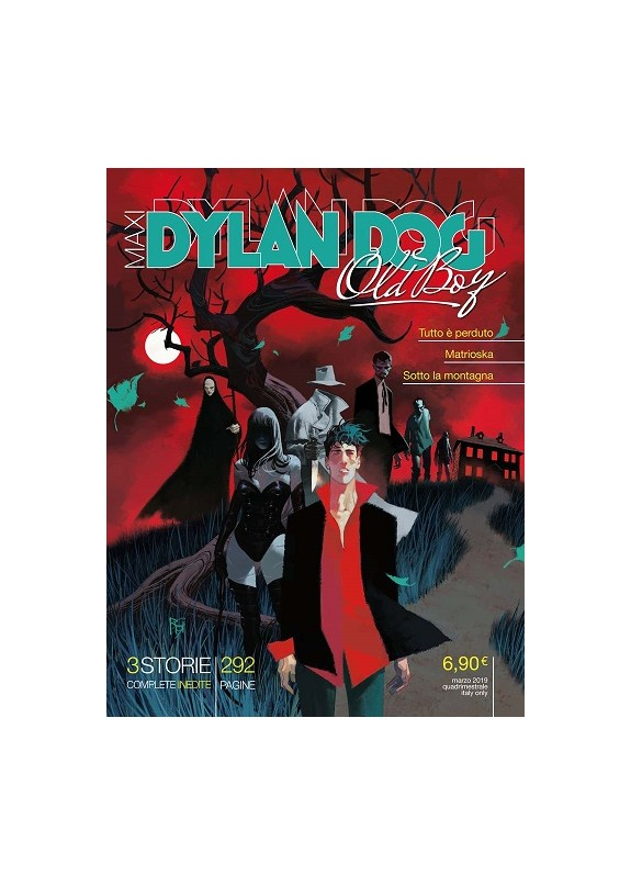 DYLAN DOG MAXI N.35 OLD BOY