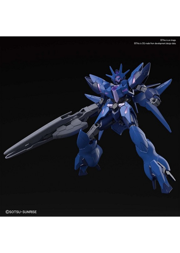 HGBDR NEW ENEMY GUNDAM 1/144