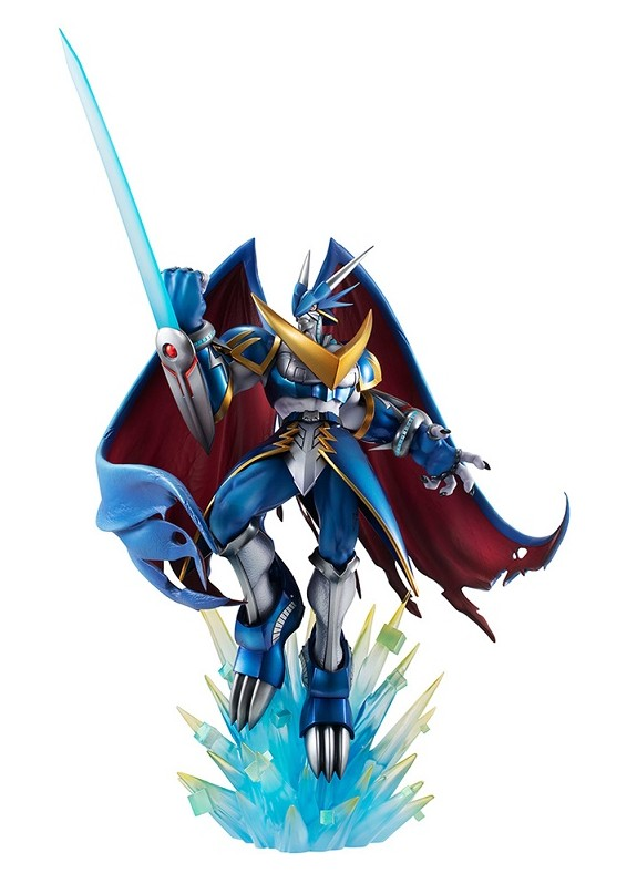 DIGIMON ADV ULFORCE VDRAMON GEM STATUE