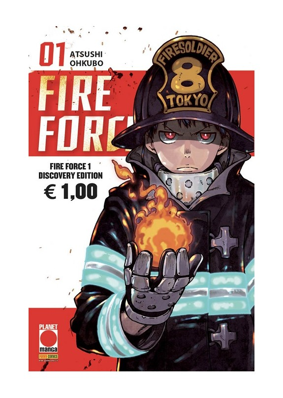 FIRE FORCE  N.1 DISCOVERY EDITION