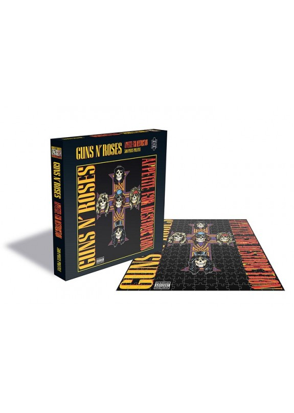 GUNS N ROSES APPETITE FOR DESTUCTION 2 PUZZLE