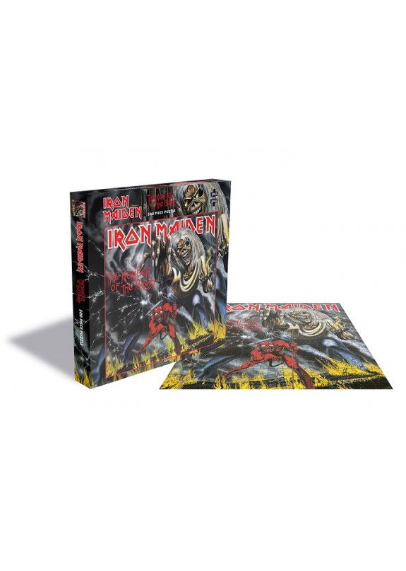 IRON MAIDEN NUMBER OF THE BEAST PUZZLE
