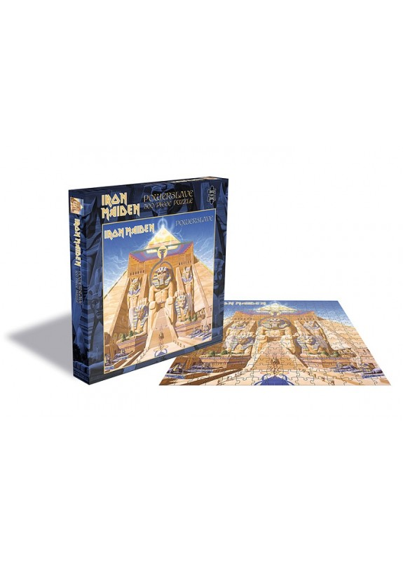 IRON MAIDEN POWERSLAVE PUZZLE