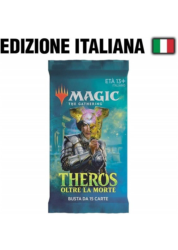 MAGIC THEROS OLTRE LA MORTE  BUSTINA 15 CARTE