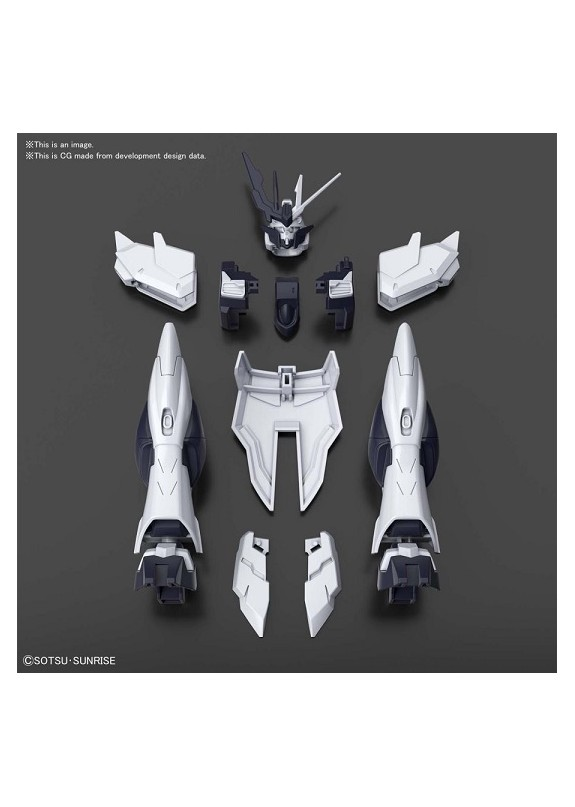HGBDR ENEMY GUNDAM NEW ARMOR ITEM 1/144