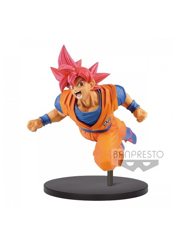 DB SUPER SON GOKU FES SS GOD FIGURE