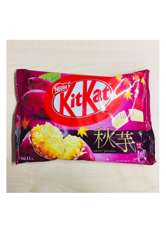 KITKAT MINI SWEET POTATO 11pz  127g