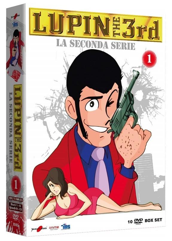 Lupin III - La Seconda Serie box 01 (10 Dvd)