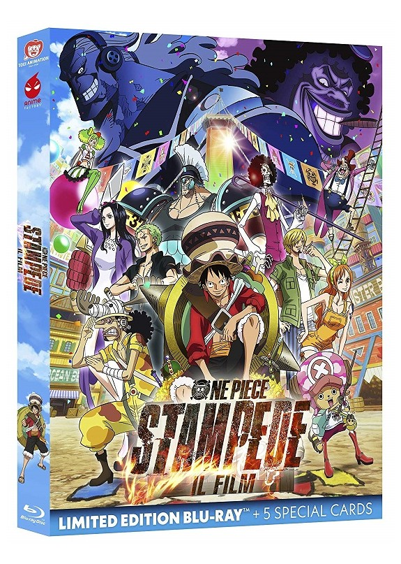 One Piece Stampede - Il Film Blu-ray Limited ed. + 5 cards