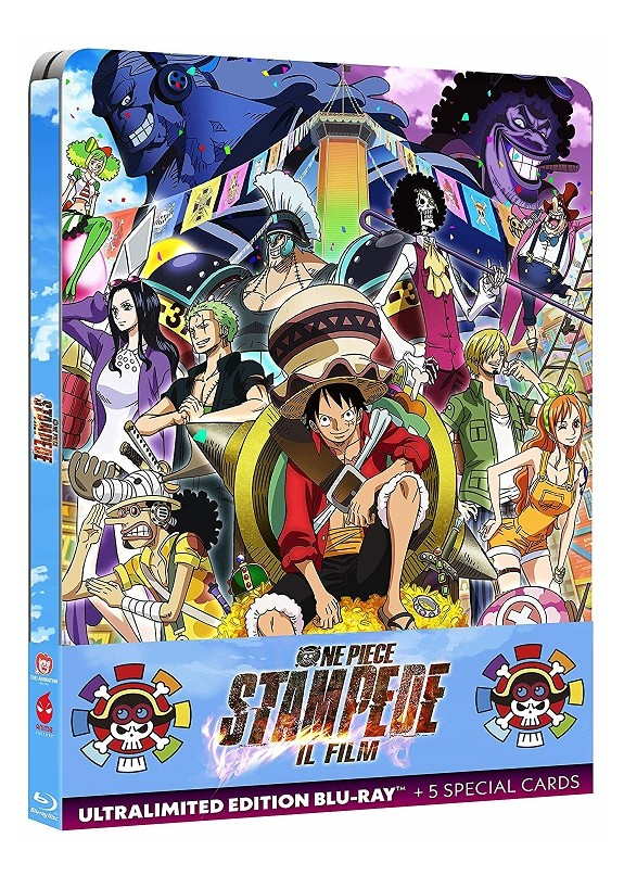 One Piece Stampede - Il Film Blu-ray(Steelbook) Ultralimited ed. + 5 cards