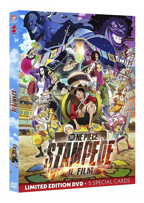 One Piece Stampede - Il Film Dvd Limited ed. + 5 cards