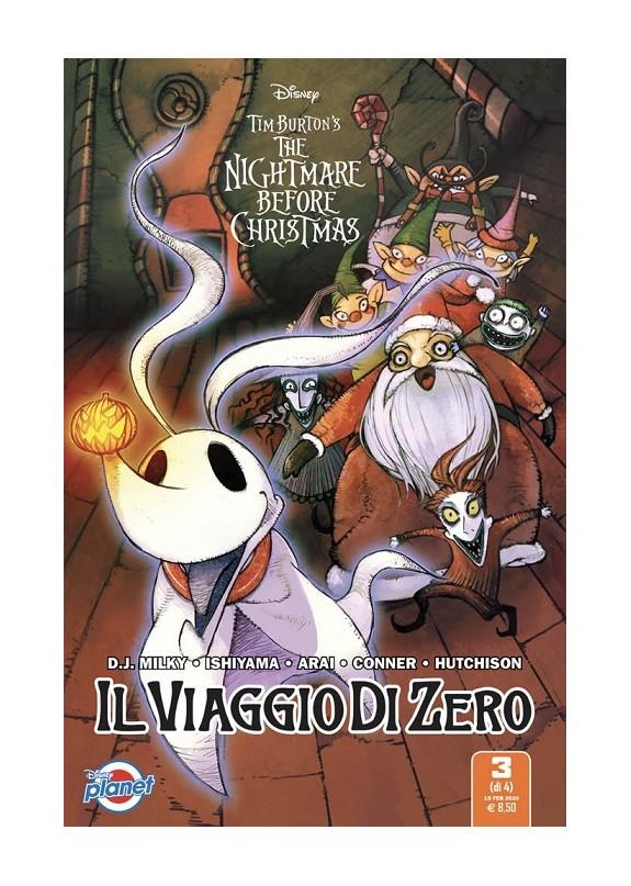 The Nightmare Before Christmas – Il viaggio di Zero N.3 (DI 4)