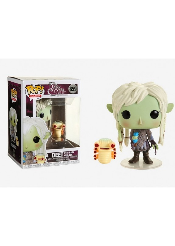 THE DARK CRYSTAL AGE OF RESISTANCE DEET WITH BABY NURLOCK FUNKO POP! #859