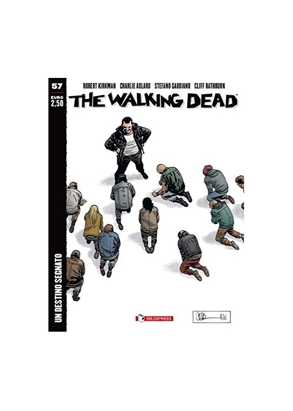 THE WALKING DEAD ECONOMICO DESTINO INCOMBENTE N.57