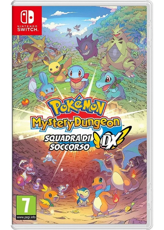 POKEMON MYSTERY DUNGEON SQUADRA DI SOCCORSO  NINTENDO SWITCH