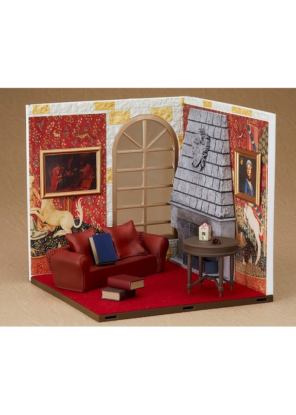 HARRY POTTER GRIFFINDOR COMMON ROOM NENDOROID SET