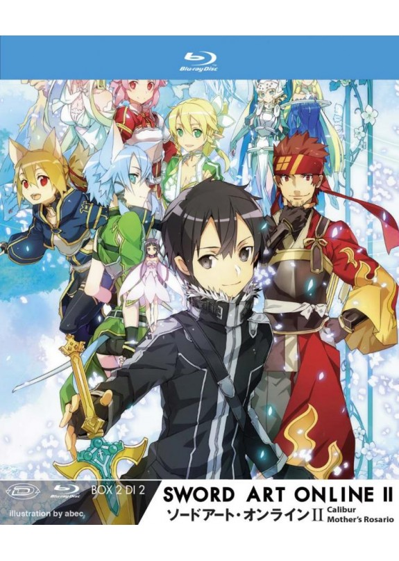 SWORD ART ONLINE II BOX #2 (DI 2)  BLU-RAY