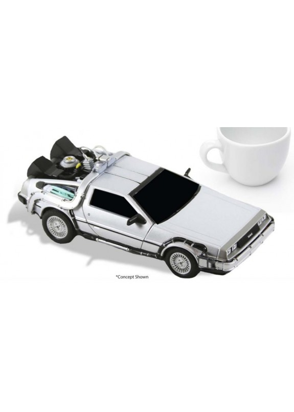 BACK TO THE FUTURE TIME MACHINE DIECAST VEHICLE
