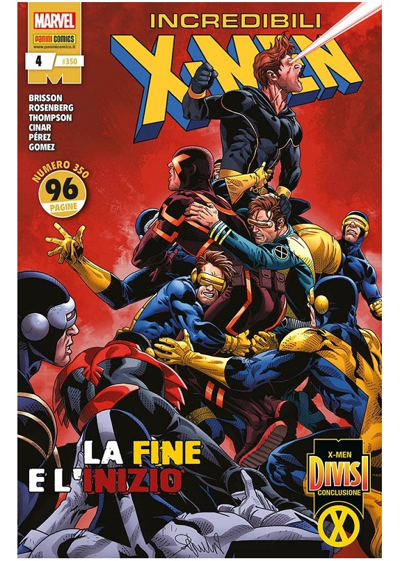 GLI INCREDIBILI X-MEN N.350 - INCREDIBILI X-MEN N.4