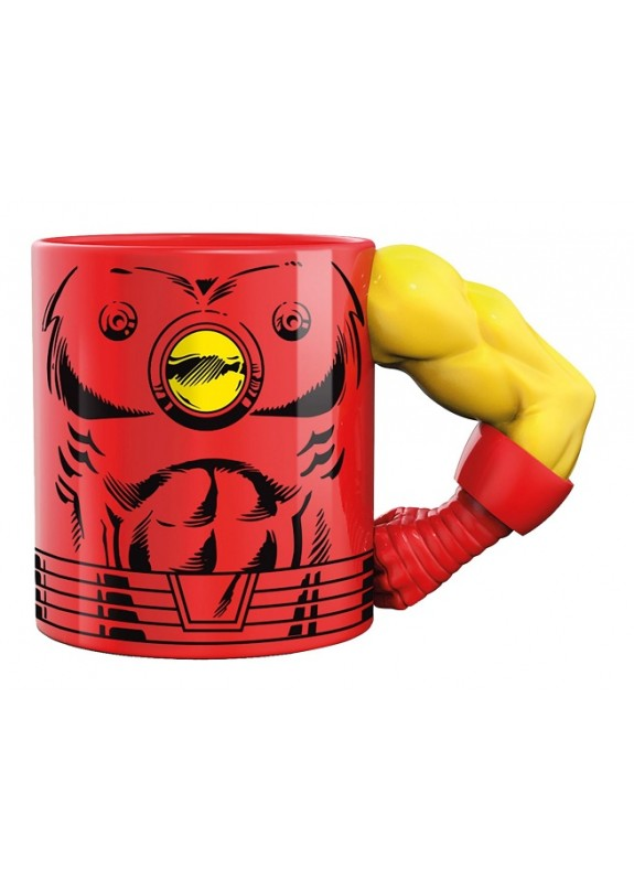 MARVEL COMICS 3D MUG IRON MAN TAZZA