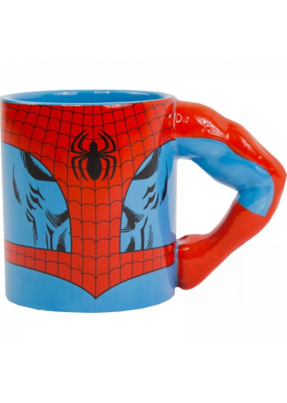 MARVEL COMICS 3D MUG SPIDER-MAN TAZZA