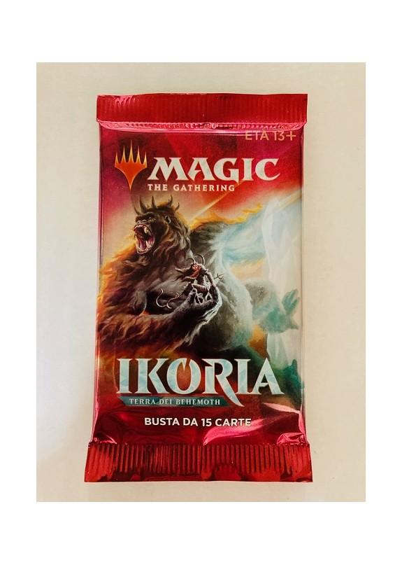 MAGIC IKORIA TERRA DEI BEHEMOTH  BUSTINA 15 CARTE