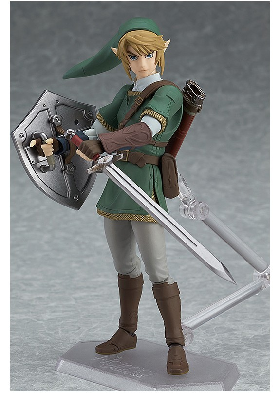 THE LEGEND ZELDA TWILIGHT PRINCESS LINK FIGMA DELUXE