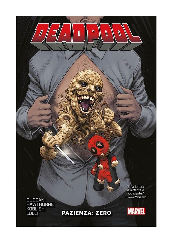 DEADPOOL N.11  PAZIENZA: ZERO - MARVEL COLLECTION