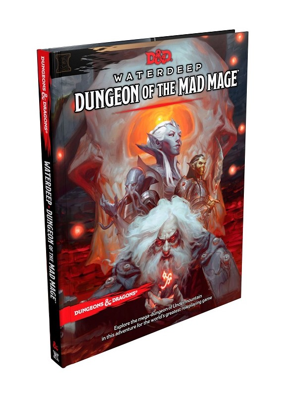 DUNGEONS & DRAGONS 5a Edizione - WATERDEEP IL DUNGEON DEL MAGO FOLLE