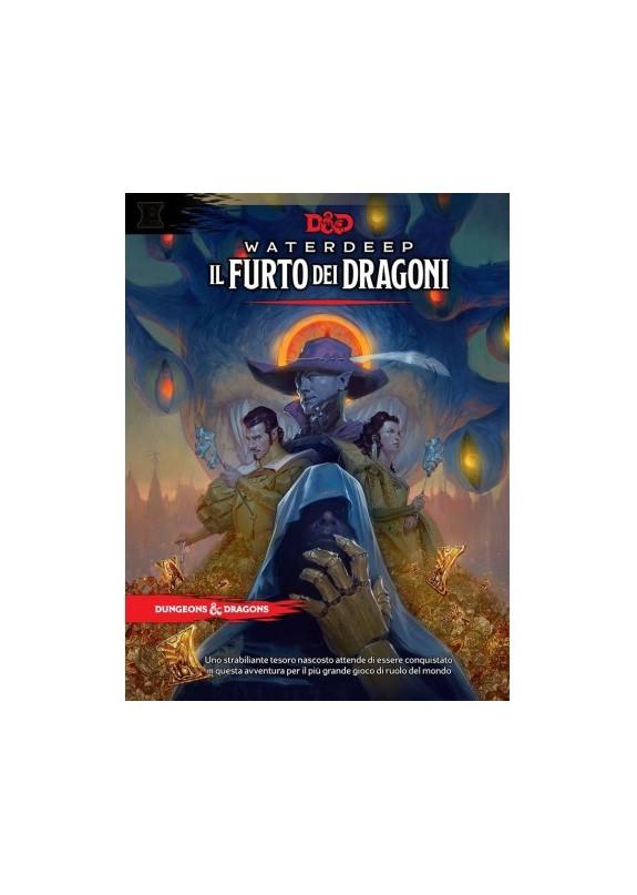 DUNGEONS & DRAGONS 5a Edizione - WATERDEEP IL FURTO DEI DRAGONI
