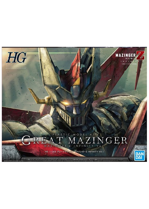 HG GREAT MAZINGER INFINITY 1/144 PLASTIC KIT
