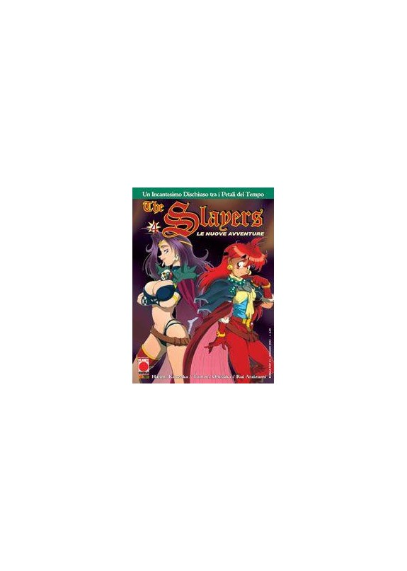 THE SLAYERS LE NUOVE AVVENTURE N.4