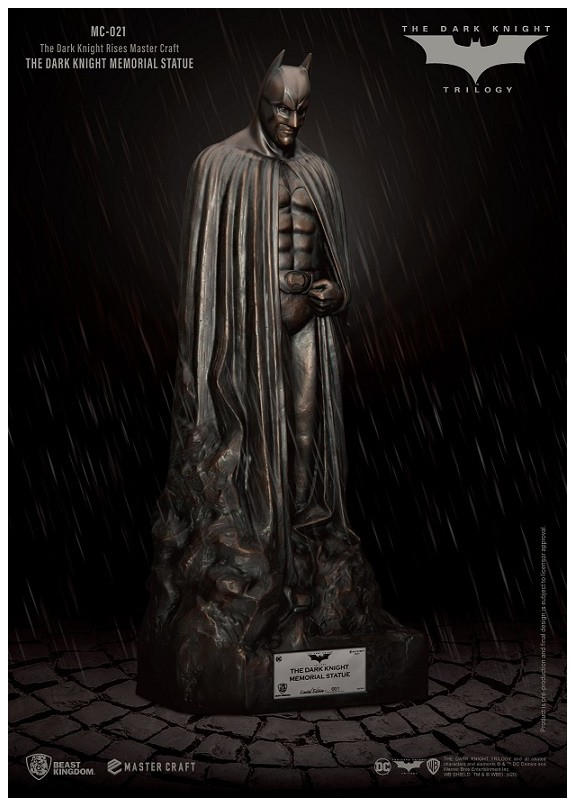 THE DARK KNIGHT RISES MC MEMORIAL STATUE